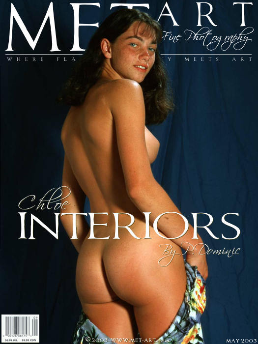 丰润的Met-Art裸模Chloe棚拍年轻的身躯