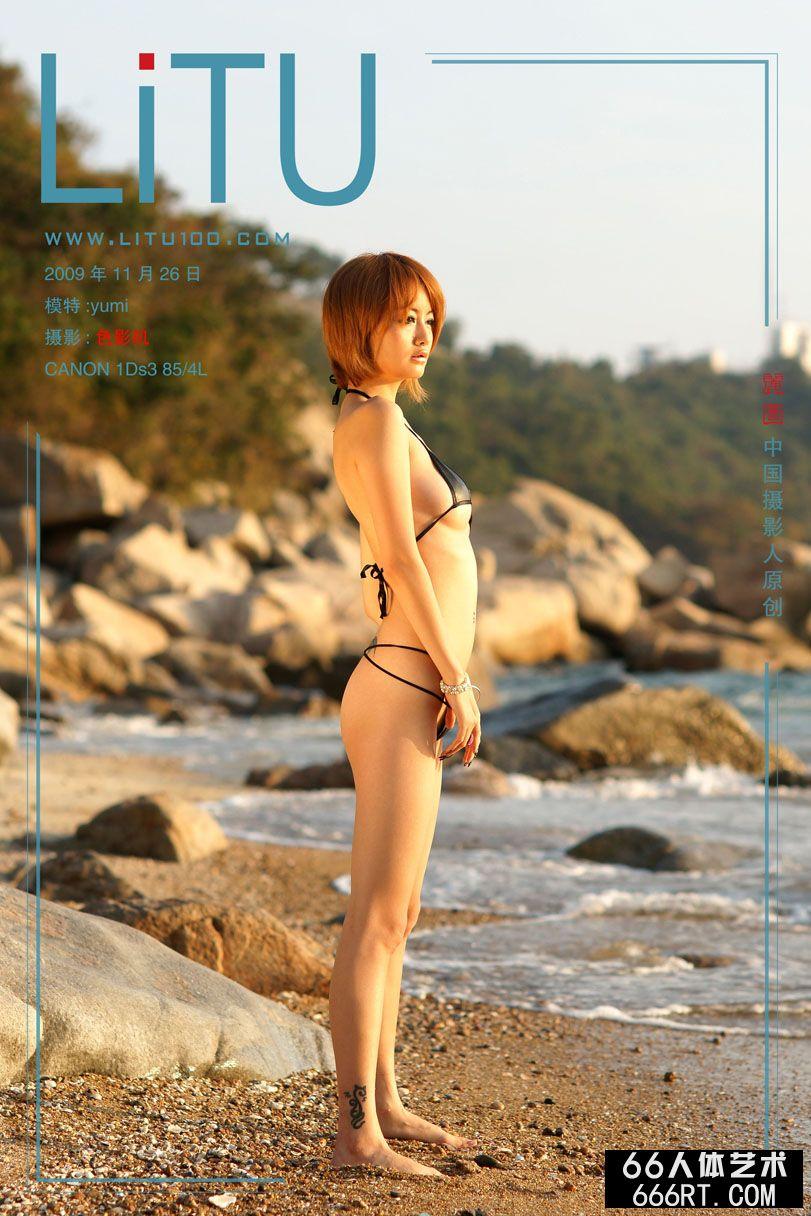 美模yumi09年11月26日外拍情趣内裤人体