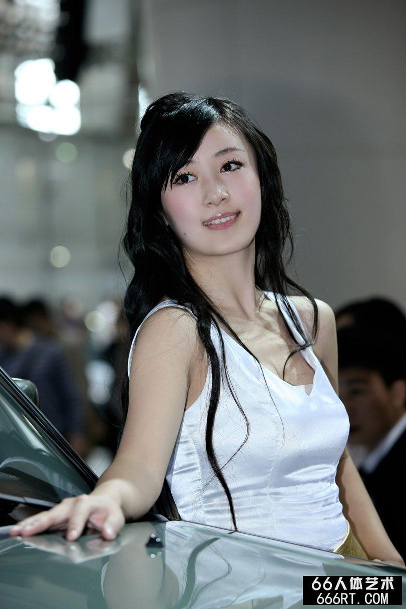 广州车展上的靓丽名模